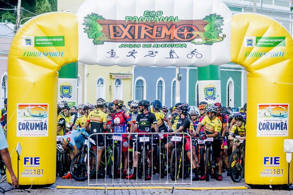 Mountain bike reúne iniciantes e profissionais no Eco Pantanal Extremo 2019