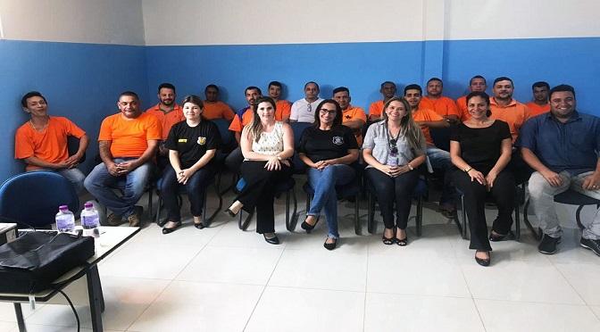 Para ampliar oportunidades, detentos da Máxima participam de palestras sobre orientações profissionais