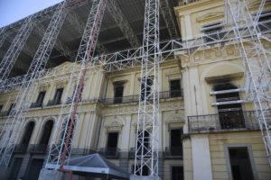 Museu Nacional do Rio de Janeiro dá mais um passo em sua reconstrução