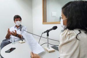 Imagem: Na entrevista, o ex ministro Luiz Henrique Mandetta contextualizou o Brasil em meio a pandemia da Covid 19