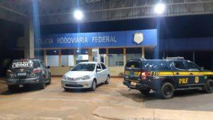 PRF prende três suspeitos de esfaquear e roubar carro de vítima em Campo Grande (MS)