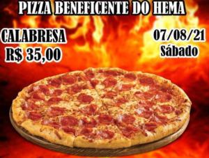 Pizza Solidária do HEMA é dia 7 de Agosto (véspera do Dia dos Pais) ajude a instituição comprando